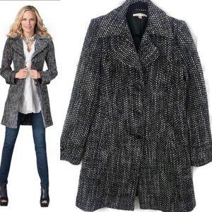 CAbi Black & White Coat Medium